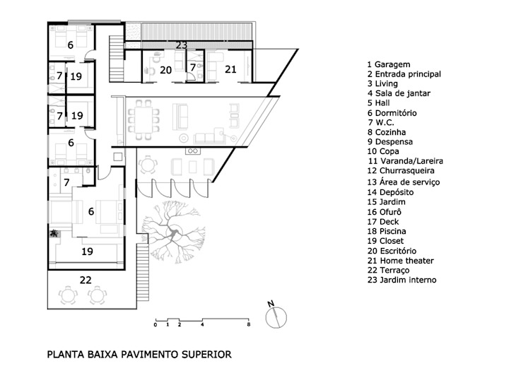 1° Pavimento por Raffo Arquitetura
