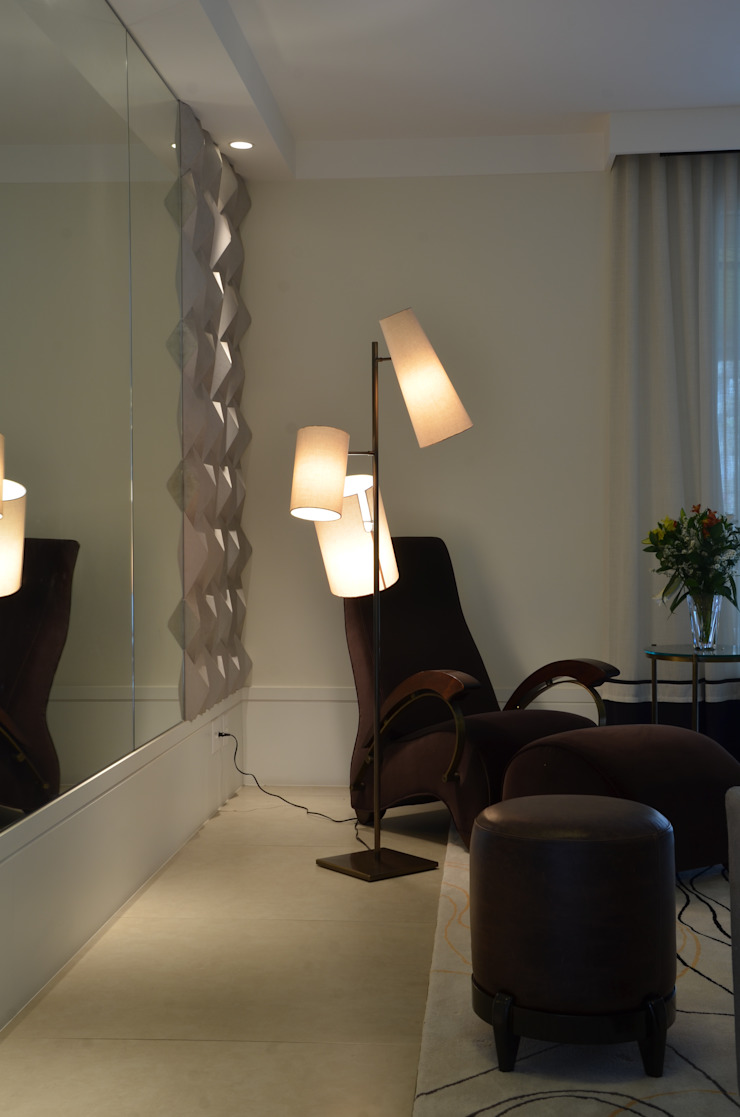 APARTAMENTO NA CIDADE por Kika Prata Arquitetura e Interiores. Moderno