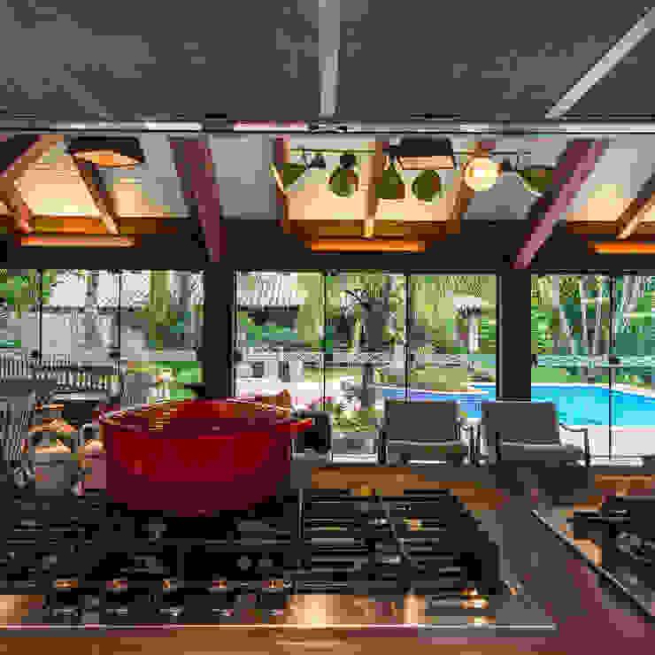 Cocinas de estilo  por Camila Tannous Arquitetura & Interiores, Ecléctico