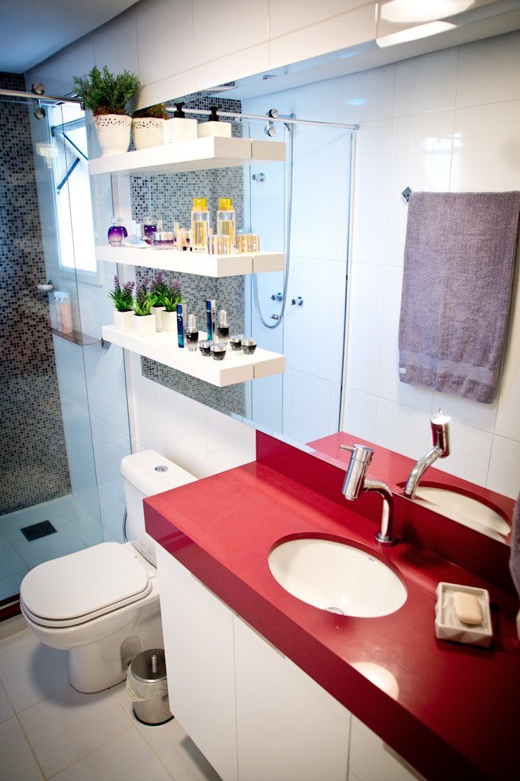 Banheiro Suíte Banheiros modernos por INOVA Arquitetura Moderno