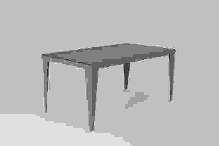 Oak plank table: industrial  by wemaketables, Industrial