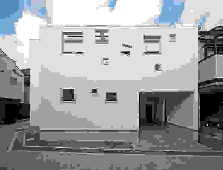 南側外観 モダンな 家 の 田崎設計室 モダン