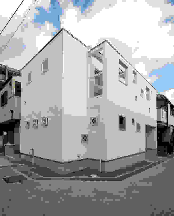 南西側外観 モダンな 家 の 田崎設計室 モダン