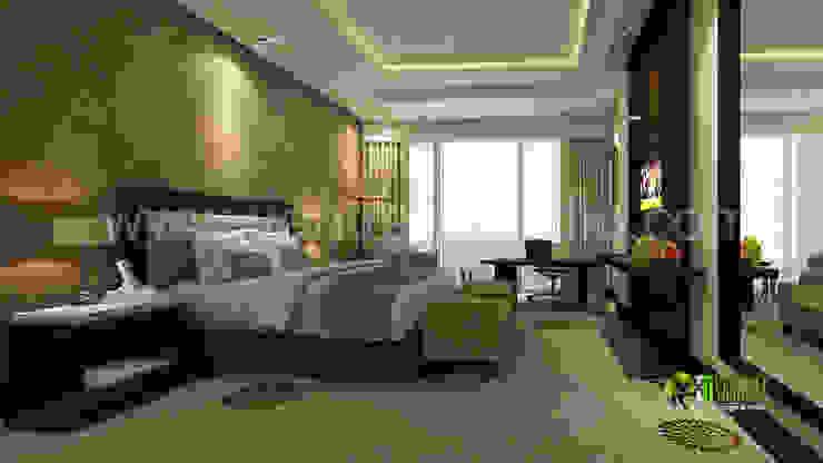 3d klassische Schlafzimmer Innenarchitektur Modern hotels by Architectural Design Studio Modern