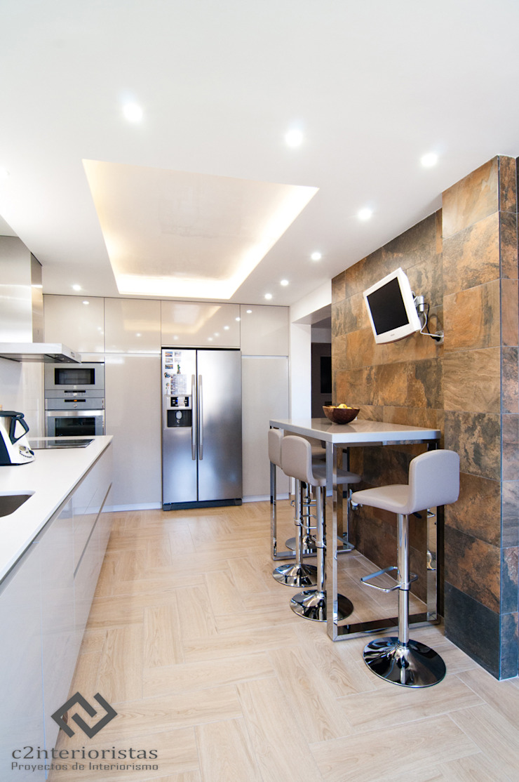C2INTERIORISTAS Cucina moderna
