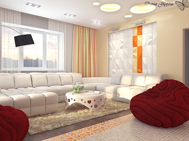 Studio Гостиная в стиле минимализм от Your royal design Минимализм