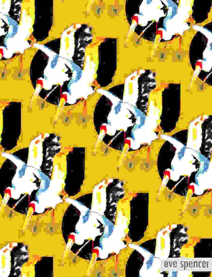 Stork Moon von eve spencer Asiatisch
