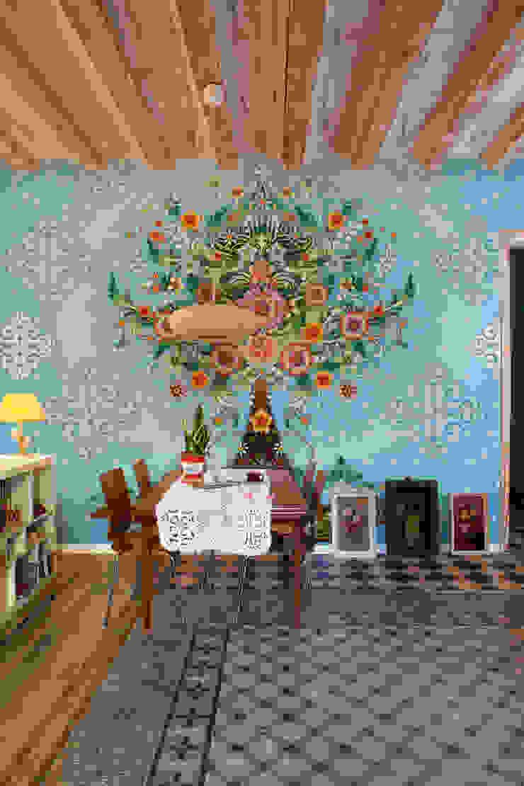 Catalina Estrada Mural ref 1280204: modern  by Paper Moon, Modern