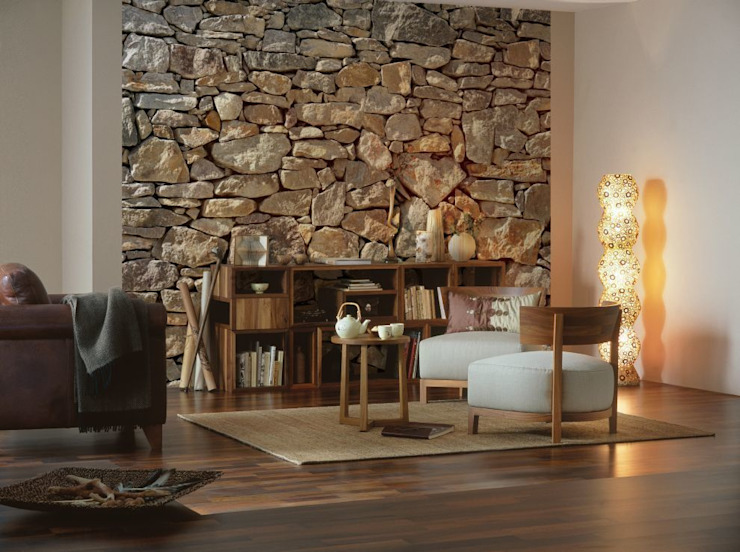 Stone Wall Mural ref 8-727:  Walls & flooring by Paper Moon,