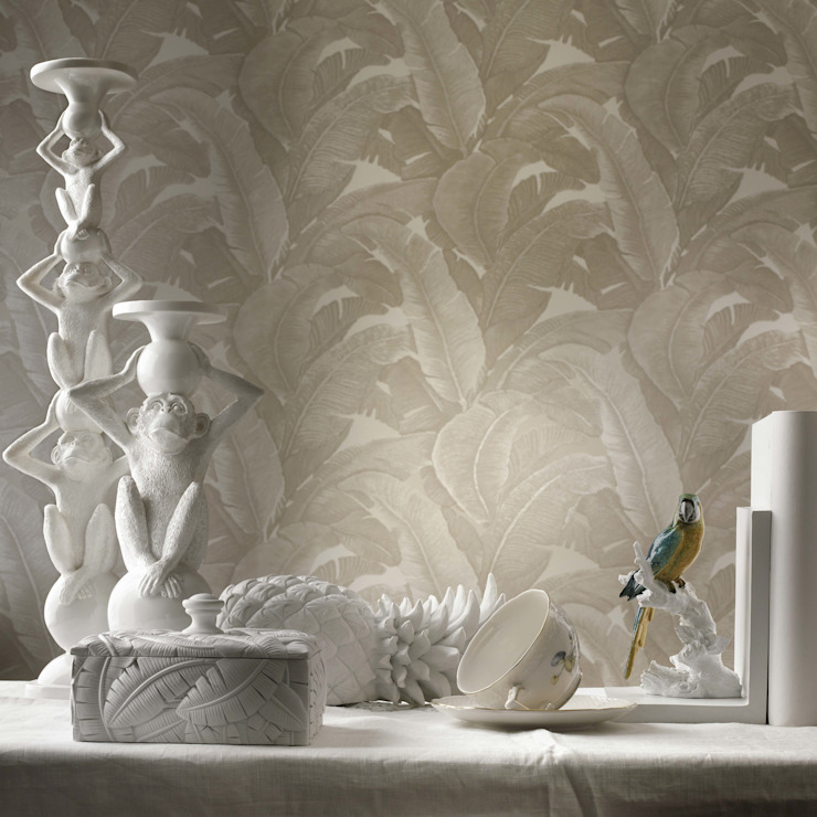 Quod II Wallpaper ref 258 C02: classic  by Paper Moon, Classic
