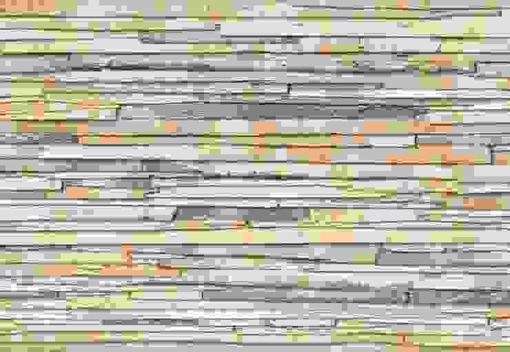 Whitewashed Wood Mural ref 8-920 por Paper Moon Rústico