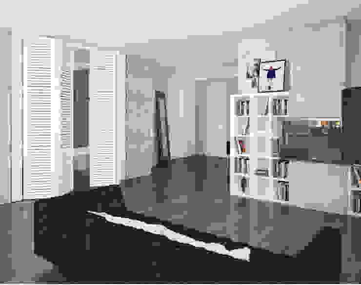Loft Гостиная в стиле лофт от APRIL DESIGN Лофт