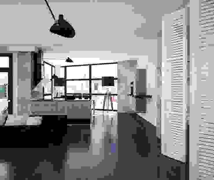 Loft Кухня в стиле лофт от APRIL DESIGN Лофт