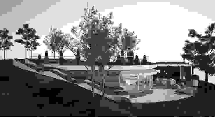 beach House Дома в стиле минимализм от APRIL DESIGN Минимализм