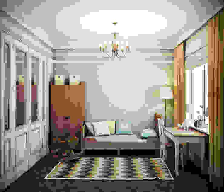 Dormitorios infantiles de estilo ecléctico de Marina Sarkisyan Ecléctico