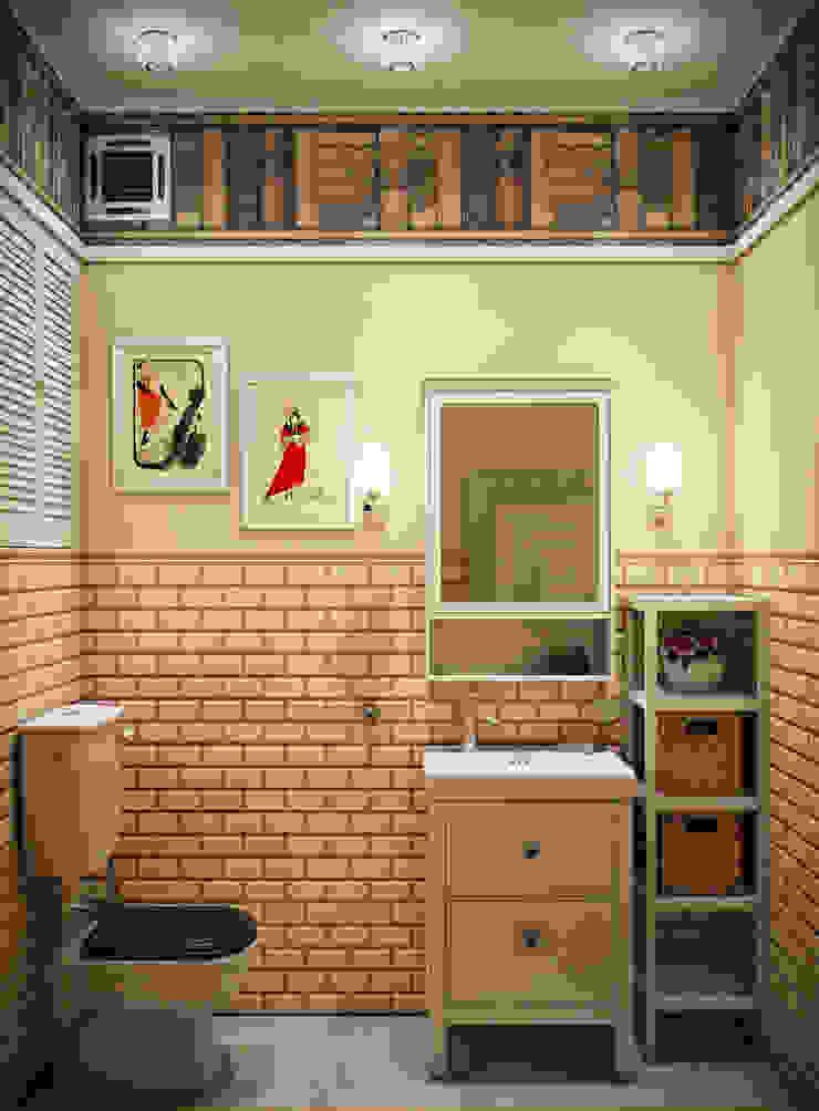 Baños de estilo ecléctico de Marina Sarkisyan Ecléctico