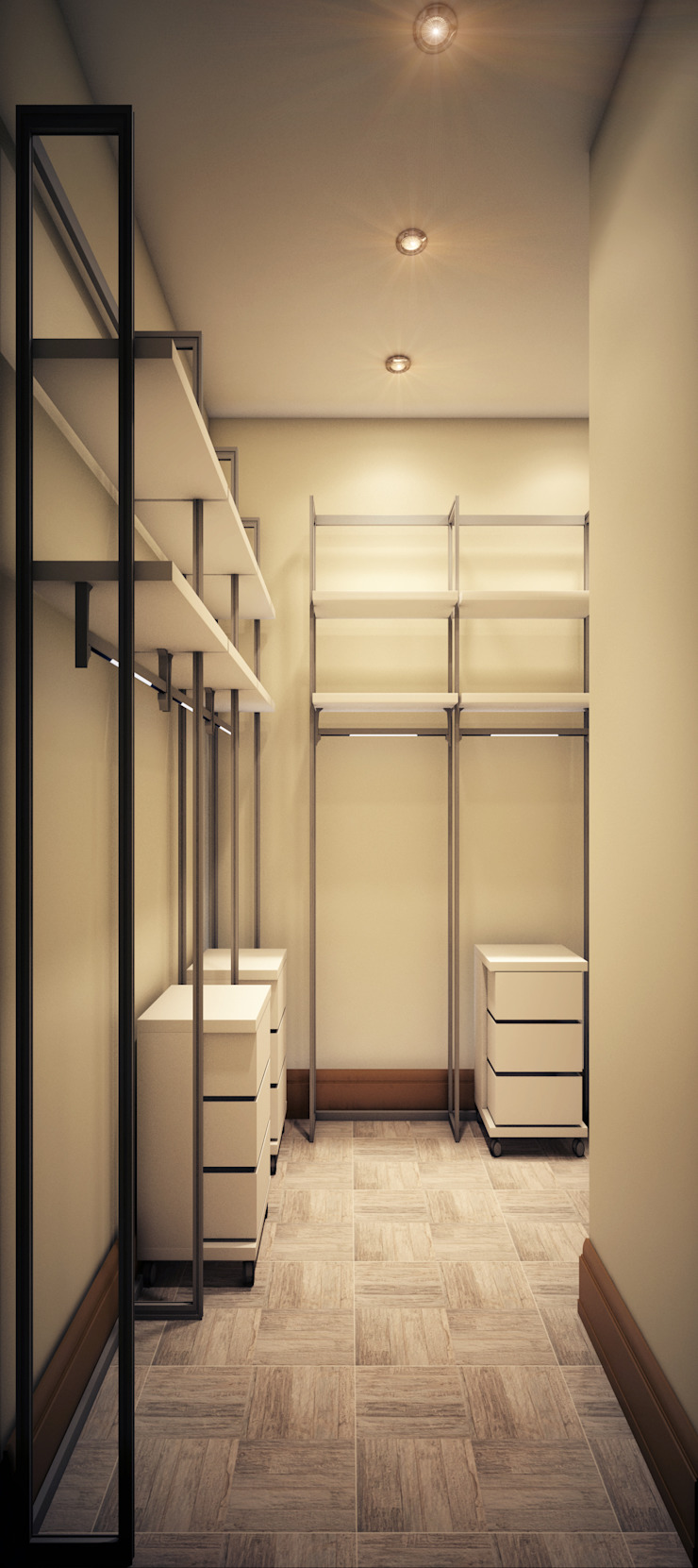 Eclectic style dressing rooms by Marina Sarkisyan Eclectic