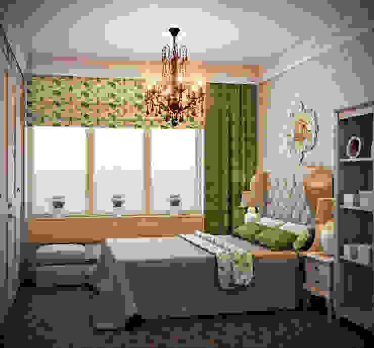 Dormitorios de estilo ecléctico de Marina Sarkisyan Ecléctico
