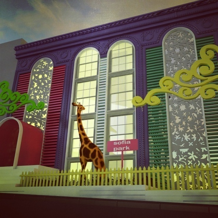 ANAOKULU DIS CEPHE PROJESİ Modern Okullar Marttasarım iç mimarlık proje uygulama Modern