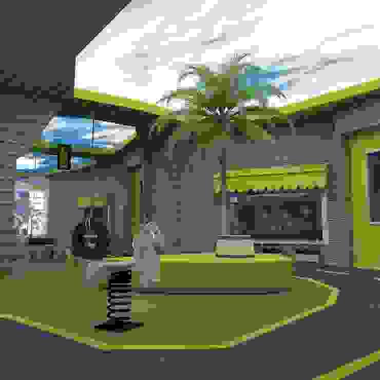 ANAOKULU İÇ MEKAN TASARIM PROJESİ Modern Oteller Marttasarım iç mimarlık proje uygulama Modern