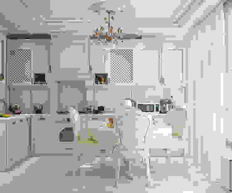 Классика в интерьере Кухня в классическом стиле от Студия дизайна Interior Design IDEAS Классический