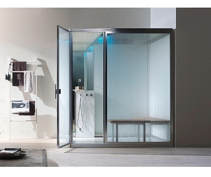 Hammam de style  par Steam and Sauna Innovation, Moderne