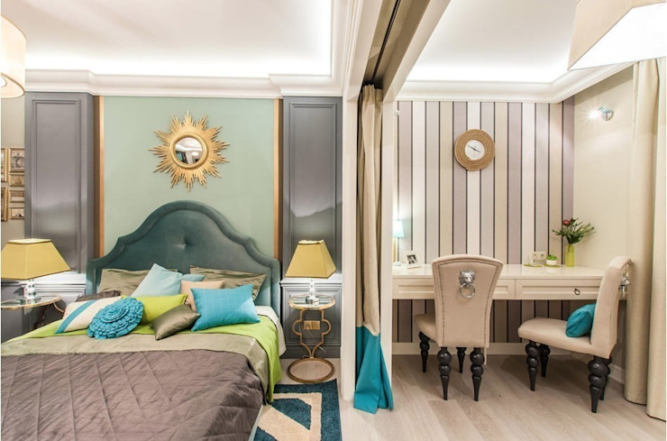 Classic style bedroom by Tony House Interior Design & Decoration Classic