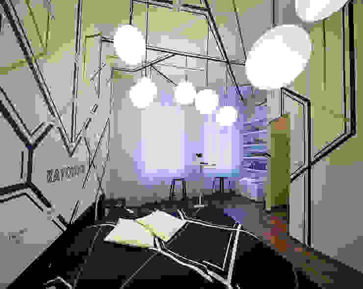 Pokój w Boutique Hoste Patria - Katografika Nowoczesna sypialnia od musk collective design Nowoczesny