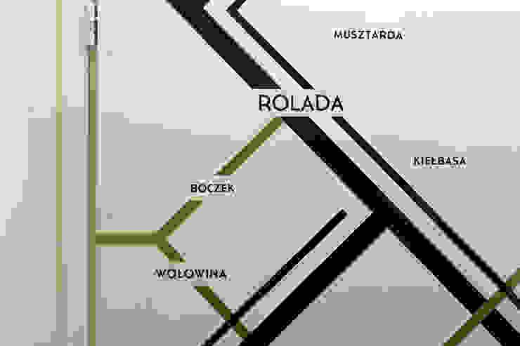 Pokój w Boutique Hoste Patria - Katografika Nowoczesny korytarz, przedpokój i schody od musk collective design Nowoczesny