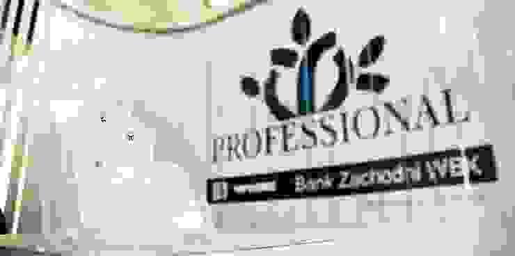 Stoisko firmowe Professional od musk collective design Minimalistyczny