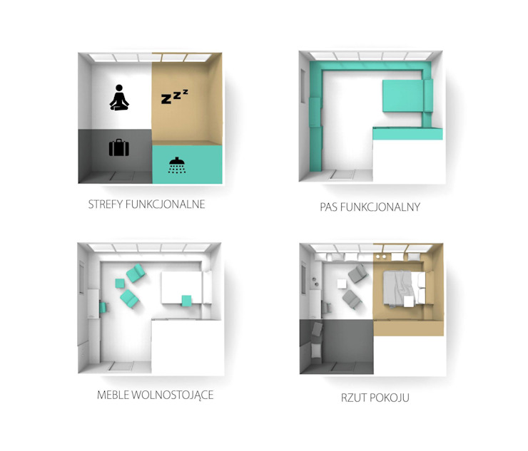 FO(U)R SPACES - linia mebli dla sektora hotelowego od musk collective design