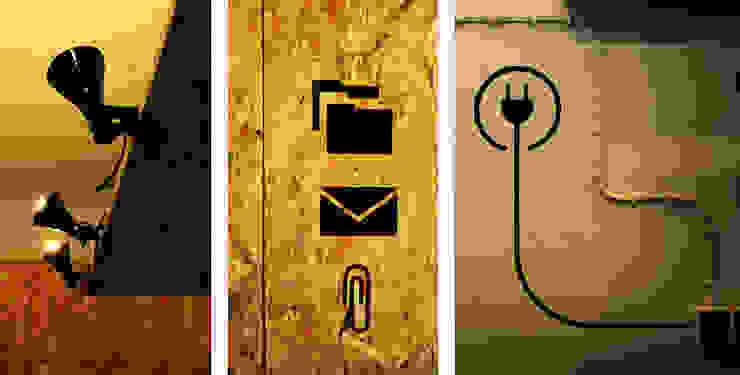 Biuro 4k€ Minimalistyczne domowe biuro i gabinet od musk collective design Minimalistyczny