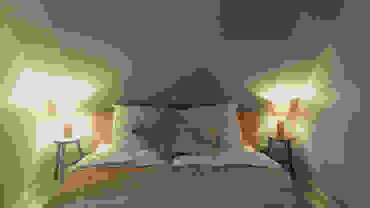 Ferienhaus Föhr neu Schlafzimmer im Landhausstil von Ilka Mehrtens Paulsieg | unique room art Landhaus