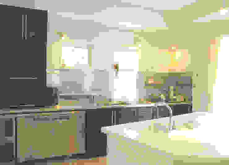 パパママハウス株式会社 現代廚房設計點子、靈感&圖片