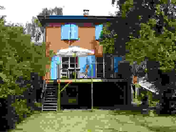 Saniertes Einfamilienhaus von 1930 Moderne Häuser von Innenarchitekturinsel Modern