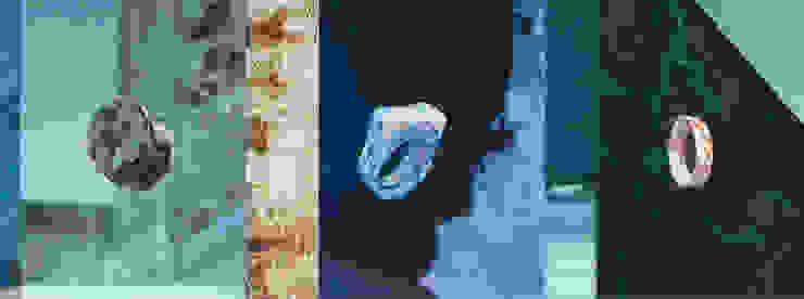 STOOK ringen : modern  door studio Mianne de Vries, Modern