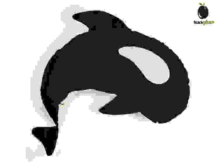 Zalotna Orka - poduszka do karmienia od Black Plum Skandynawski