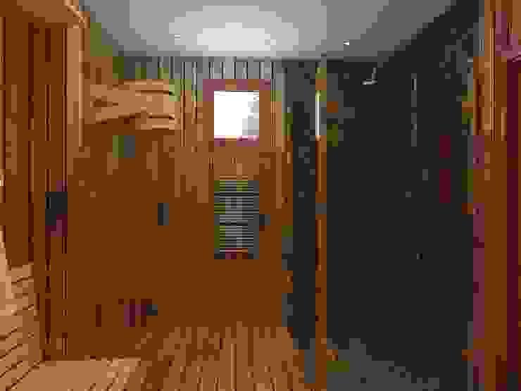 помывочная в бане Ванная комната в эклектичном стиле от ArtBuro365 Эклектичный