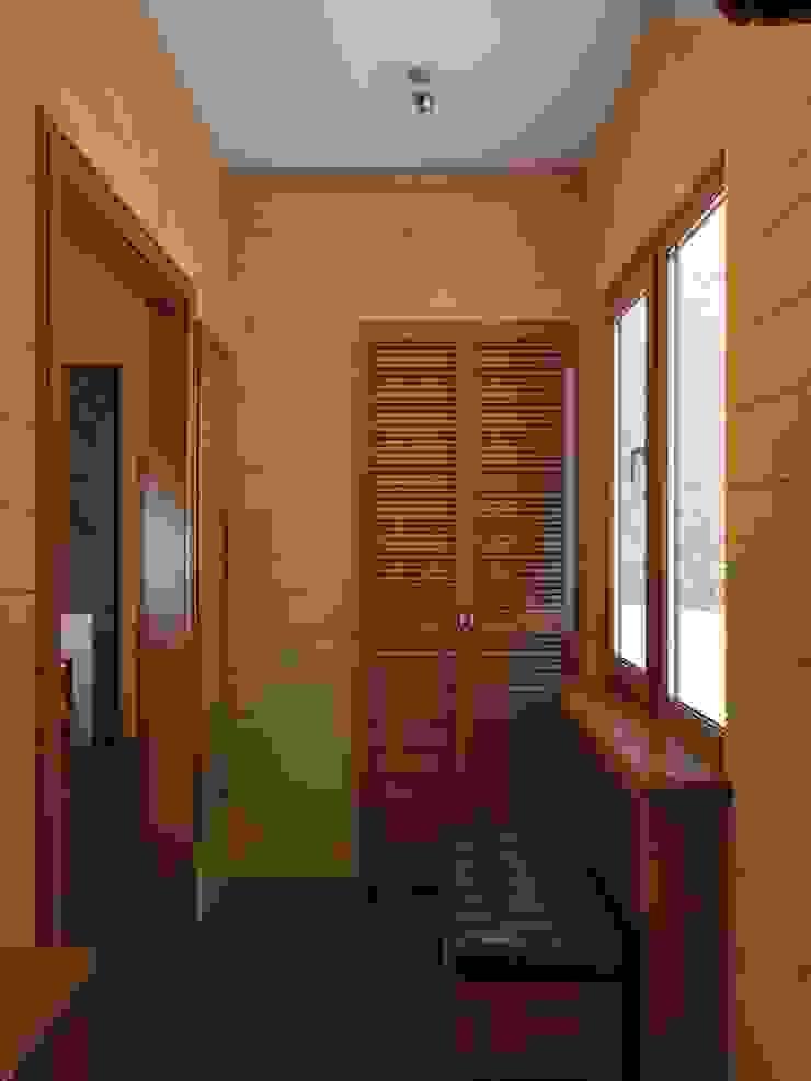 прихожая в бане Коридор, прихожая и лестница в эклектичном стиле от ArtBuro365 Эклектичный