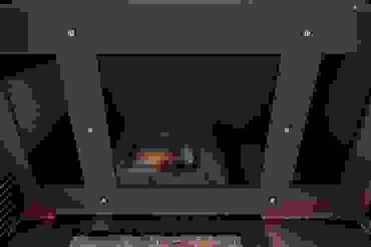 Кинозал в частном доме Медиа комната в стиле модерн от Цунёв_Дизайн. Студия интерьерных решений. Модерн
