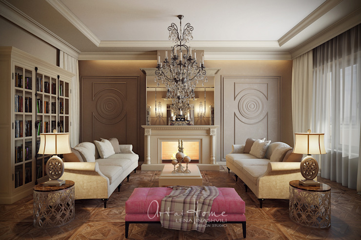 Classic style living room by Лена Инашвили Art at Home Classic