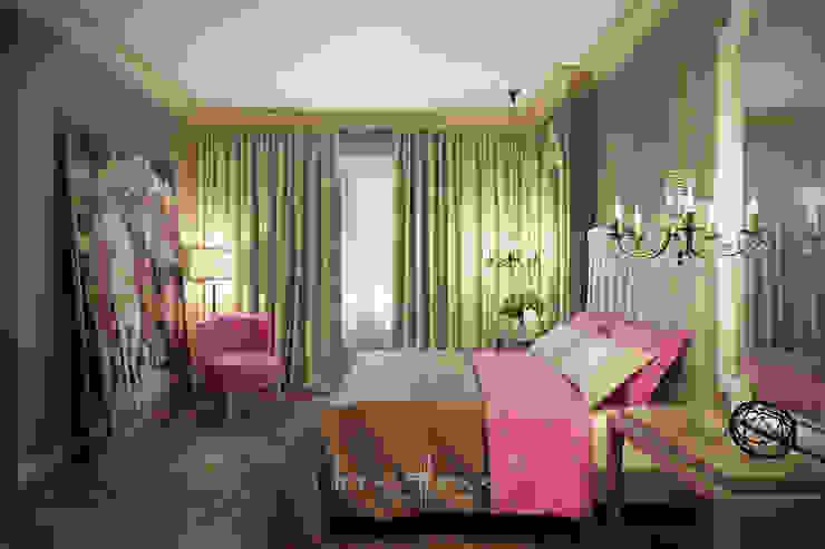 Таун-хаус на Новой Риге Лена Инашвили Art at Home Спальня в классическом стиле