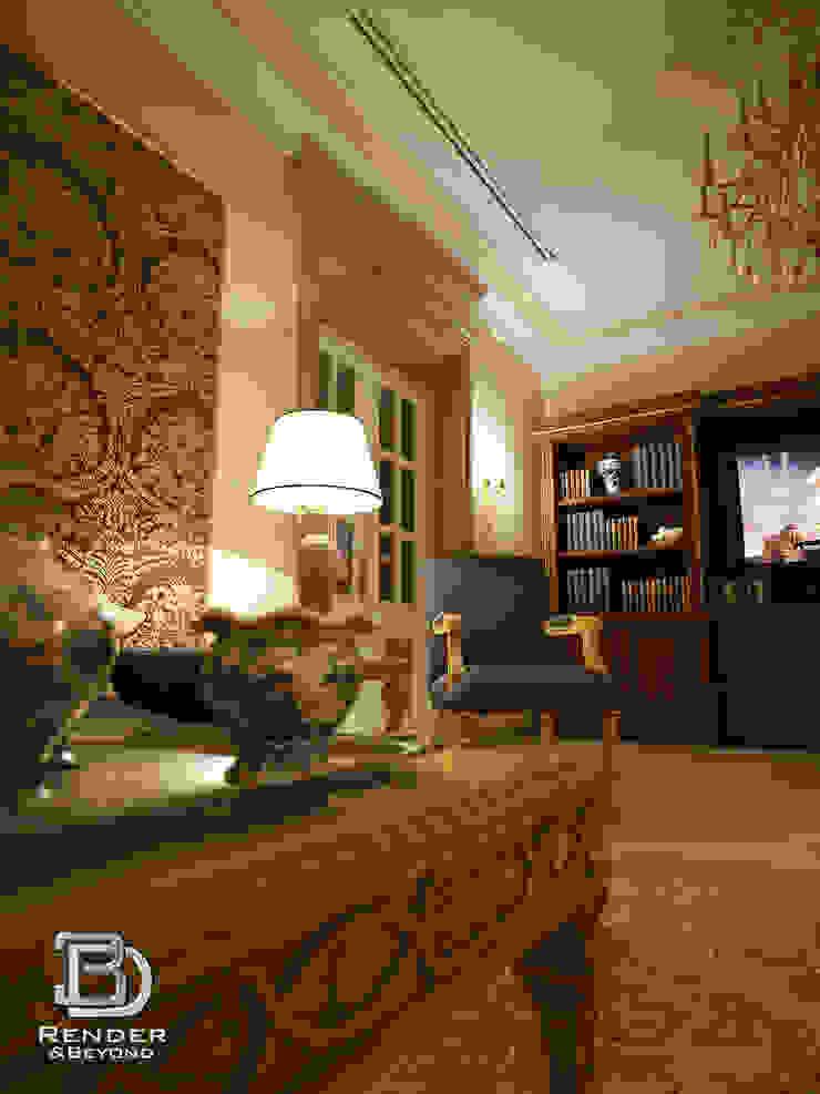 Living room 3D Render&Beyond Вітальня
