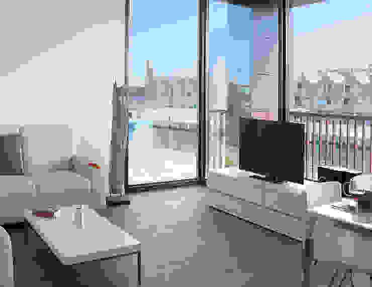 Quartier Alter Hafen, Wismar, Wohnzimmer Moderne Hotels von Bartsch Design GmbH Modern
