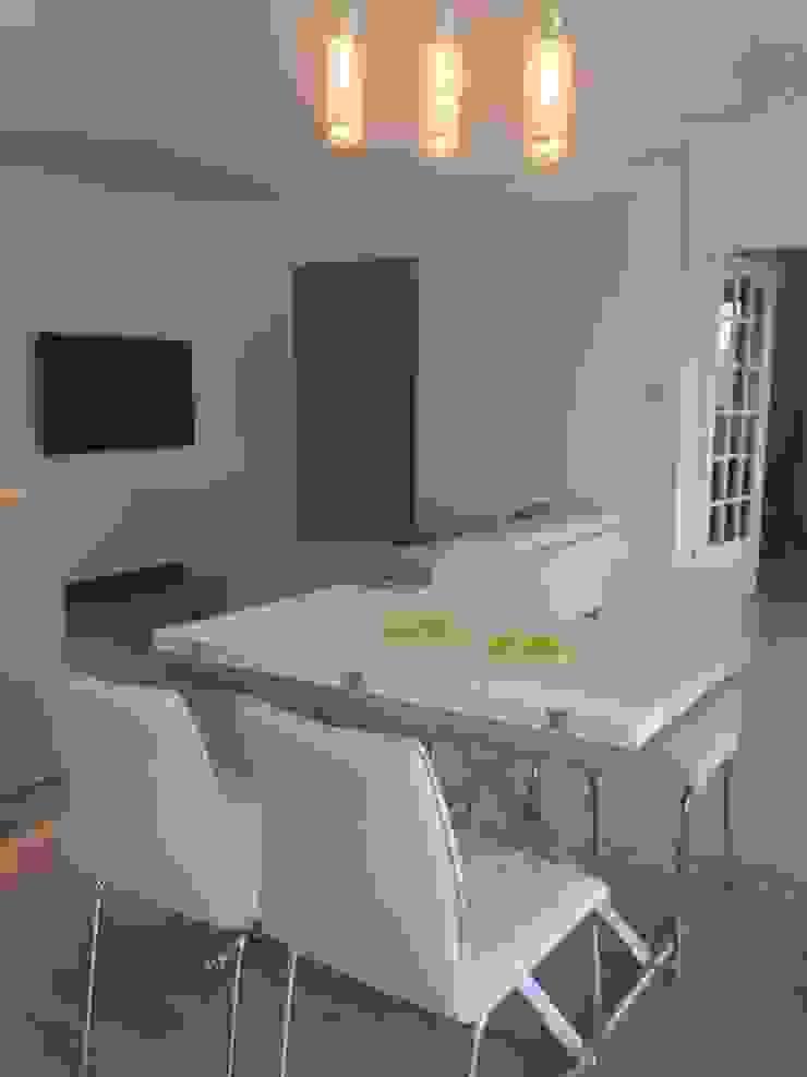 Aprés salle à manger par Les cuisines d'Arno