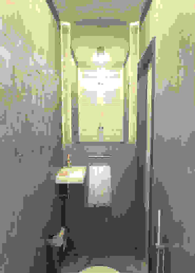 Туалет 1 Ванная комната в скандинавском стиле от Inna Katyrina & 'A-LITTLE-GREEN' studio interiors Скандинавский