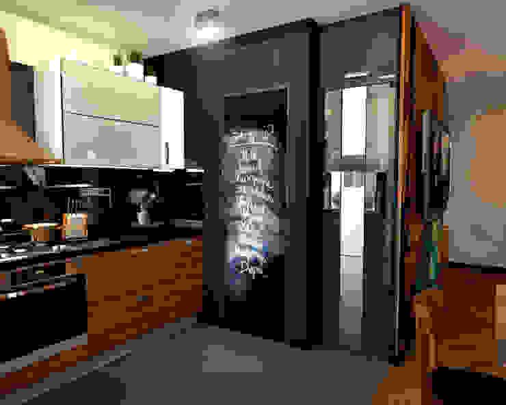Кухня 1 Кухня в скандинавском стиле от Inna Katyrina & 'A-LITTLE-GREEN' studio interiors Скандинавский