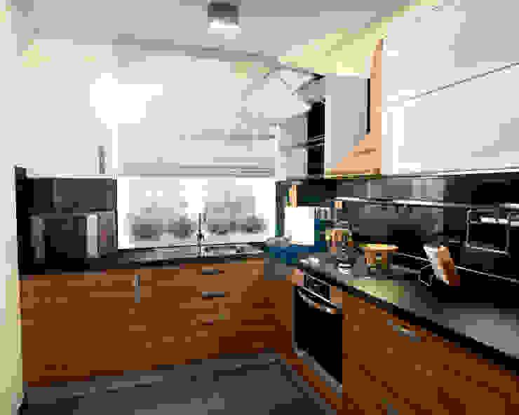 Кухня 2 Кухня в скандинавском стиле от Inna Katyrina & 'A-LITTLE-GREEN' studio interiors Скандинавский