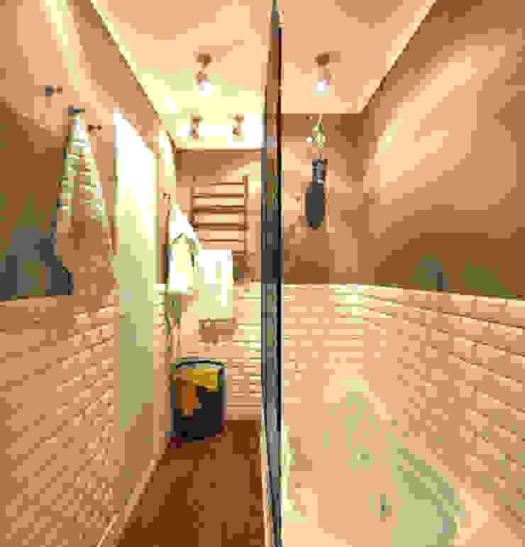 Ванная 2 Ванная комната в рустикальном стиле от Inna Katyrina & 'A-LITTLE-GREEN' studio interiors Рустикальный