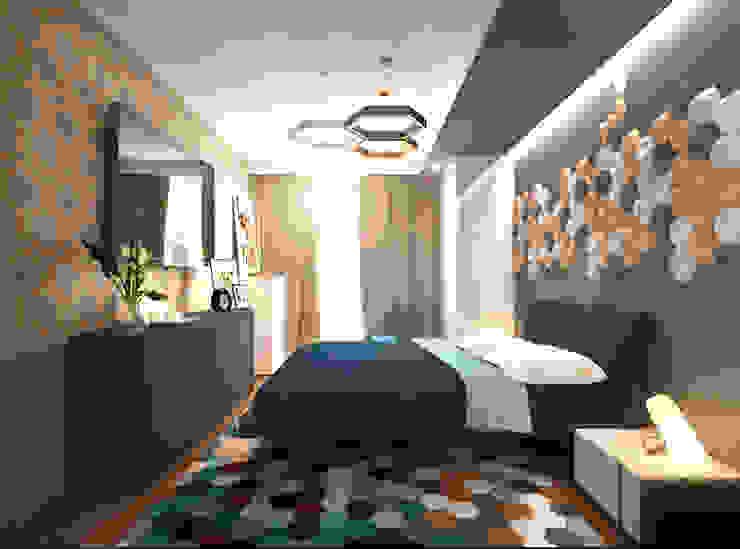 Спальня 2 Спальня в скандинавском стиле от Inna Katyrina & 'A-LITTLE-GREEN' studio interiors Скандинавский